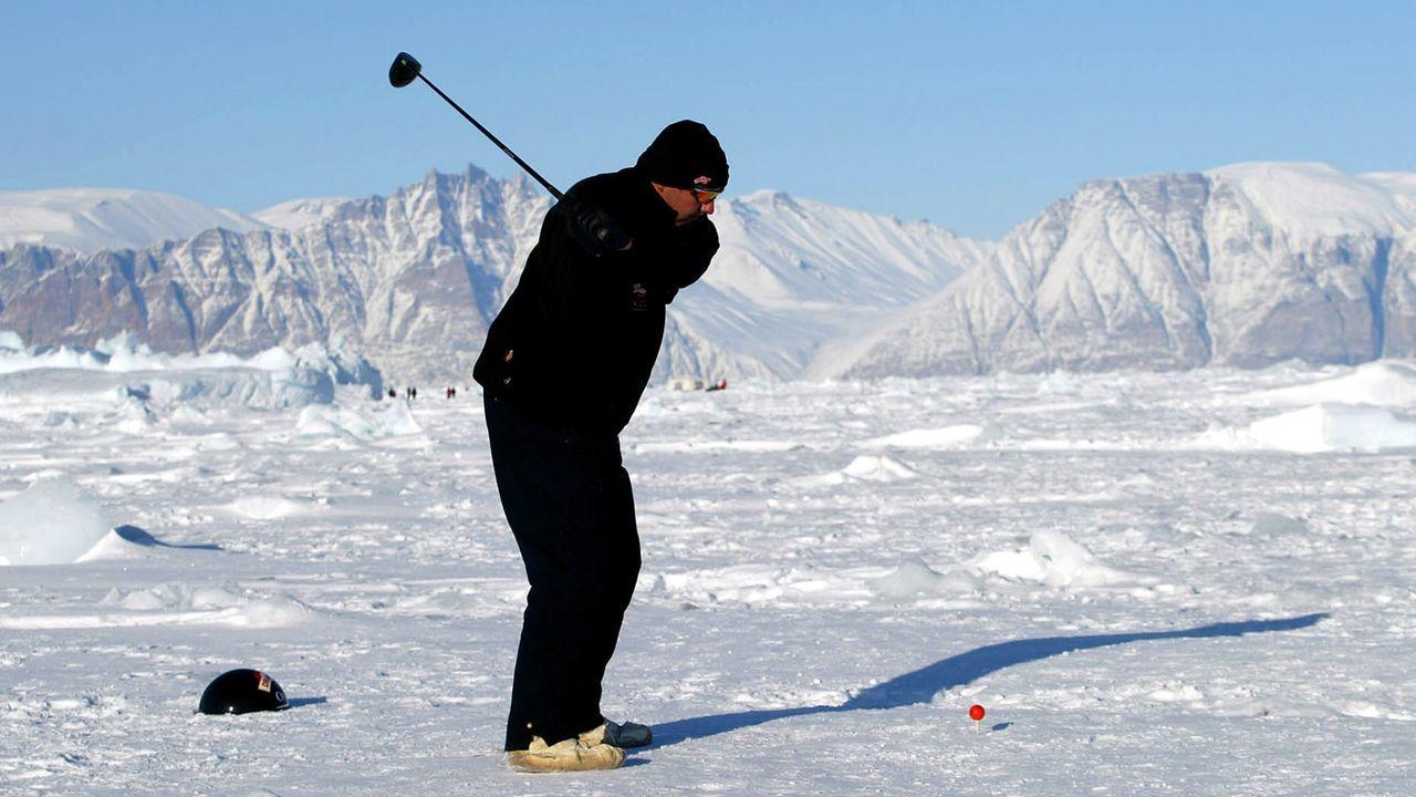 Eisgolf (Grönland) - Bildquelle: Getty Images