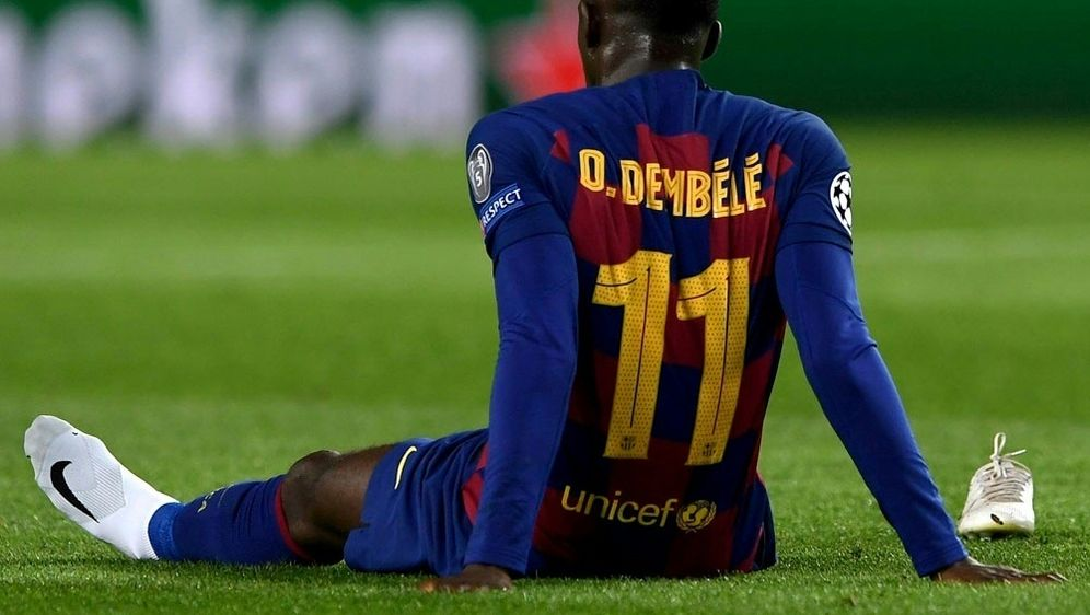 Drittes Mal verletzt in dieser Saison: Ousmane Dembele - Bildquelle: AFPSIDJOSEP LAGO