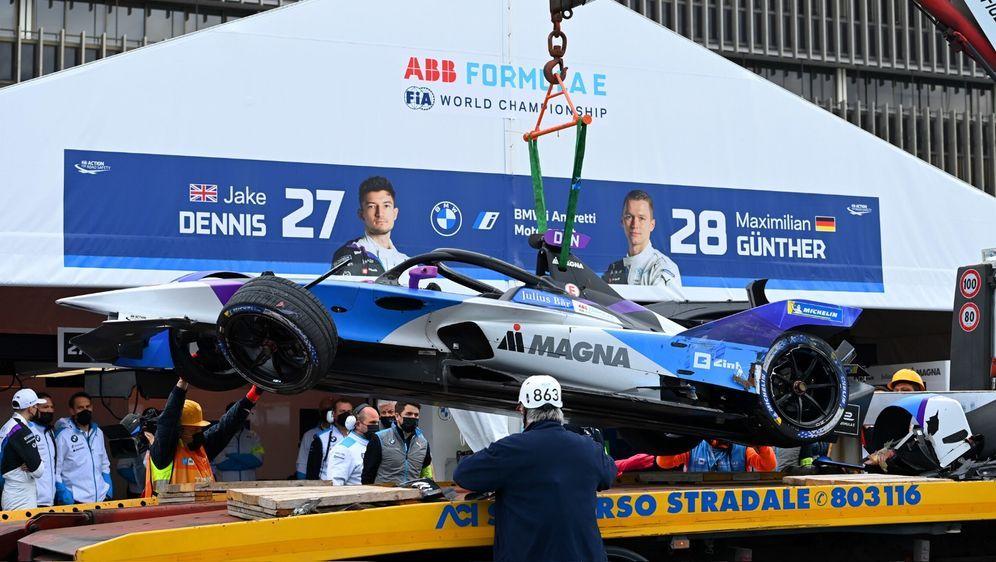 Jake Dennis war einer der Leidtragenden der Kollision. - Bildquelle: Motorsport Images