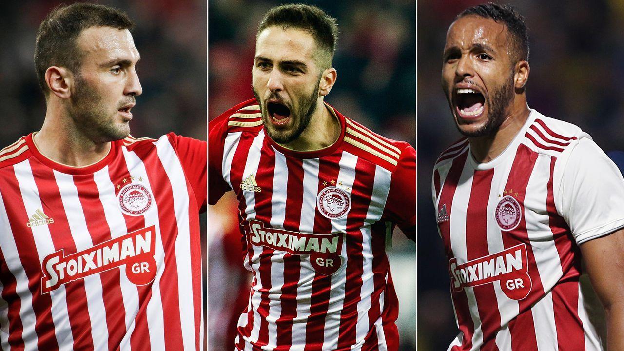 Vorsicht, Bayern! Diese Stars von Olympiakos Piräus sind gefährlich - Bildquelle: Imago