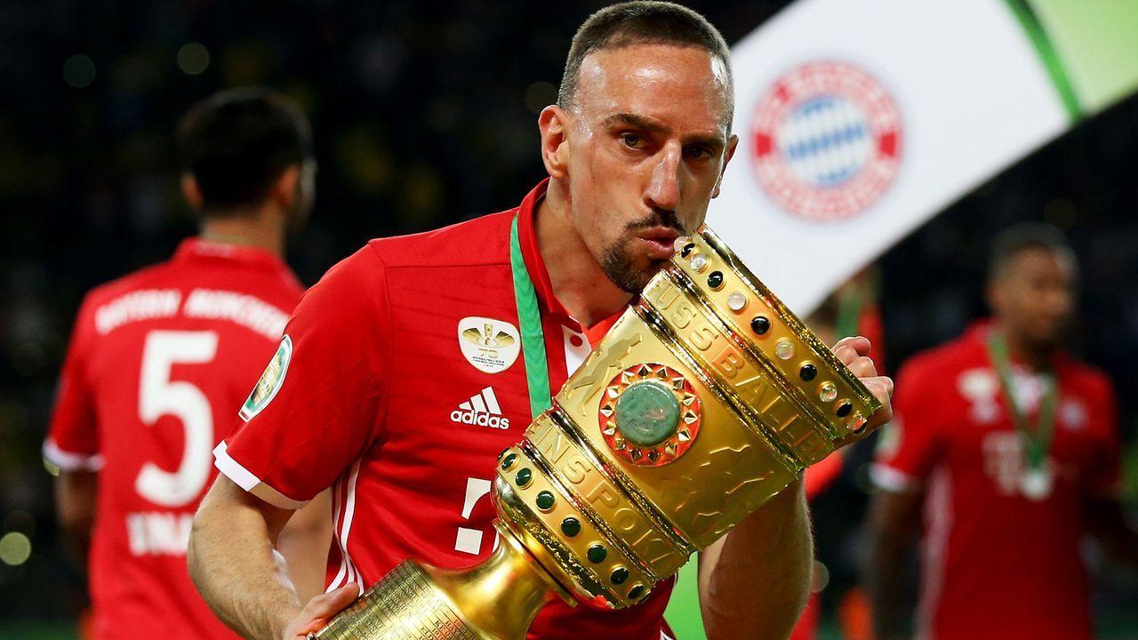 Ribery könnte zu drei Ex-Kollegen aufschließen - Bildquelle: 2016 Getty Images