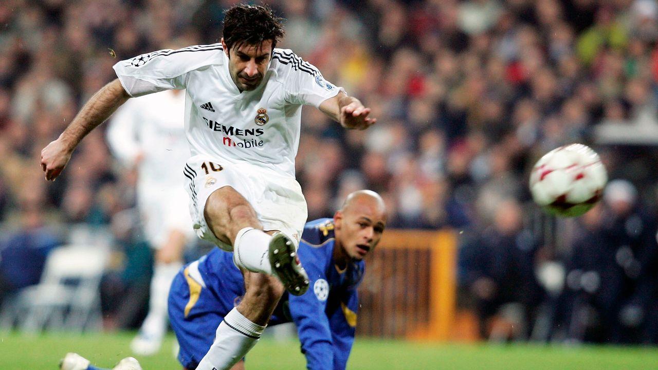 Platz 7 - Luis Figo - Bildquelle: 2004 Getty Images