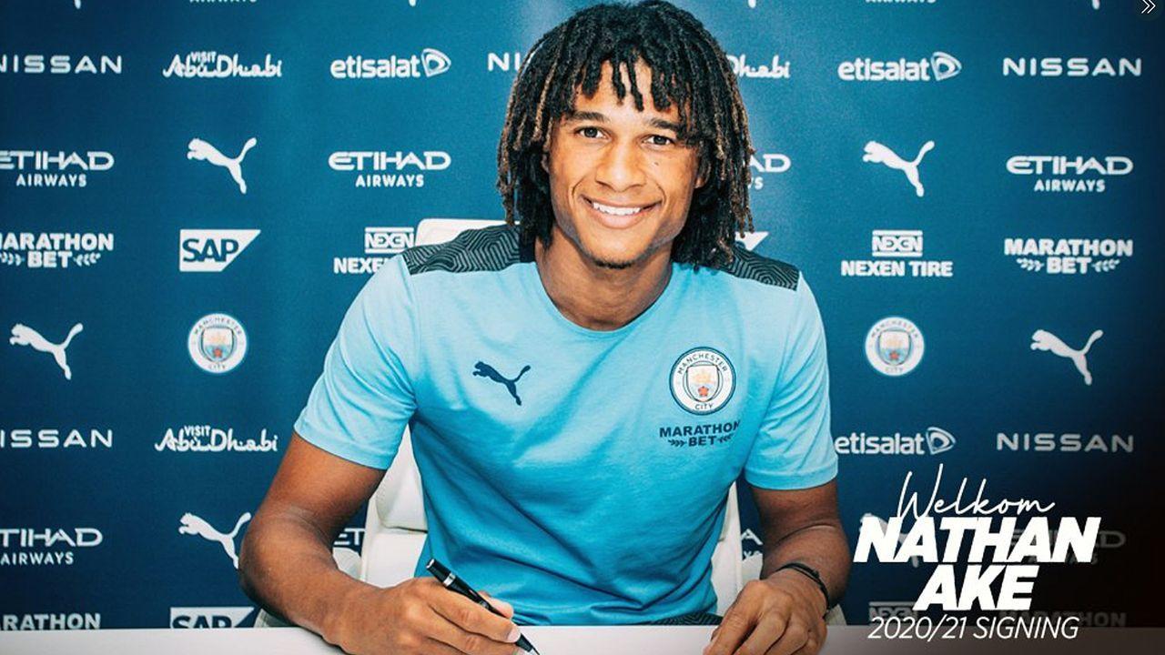 Nathan Ake (Manchester City) - Bildquelle: twitter@ManCity