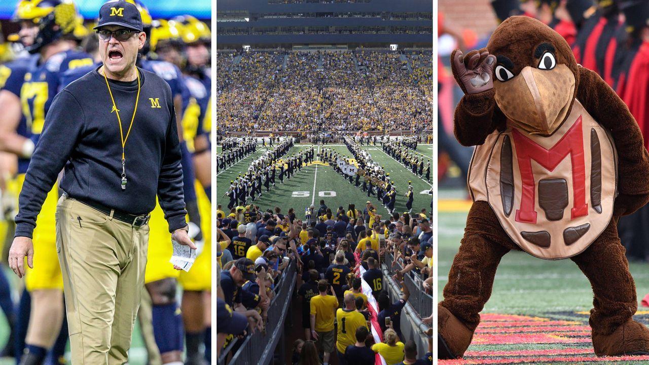 Angeberwissen zu Michigan Wolverines at Maryland Terrapins - Bildquelle: imago