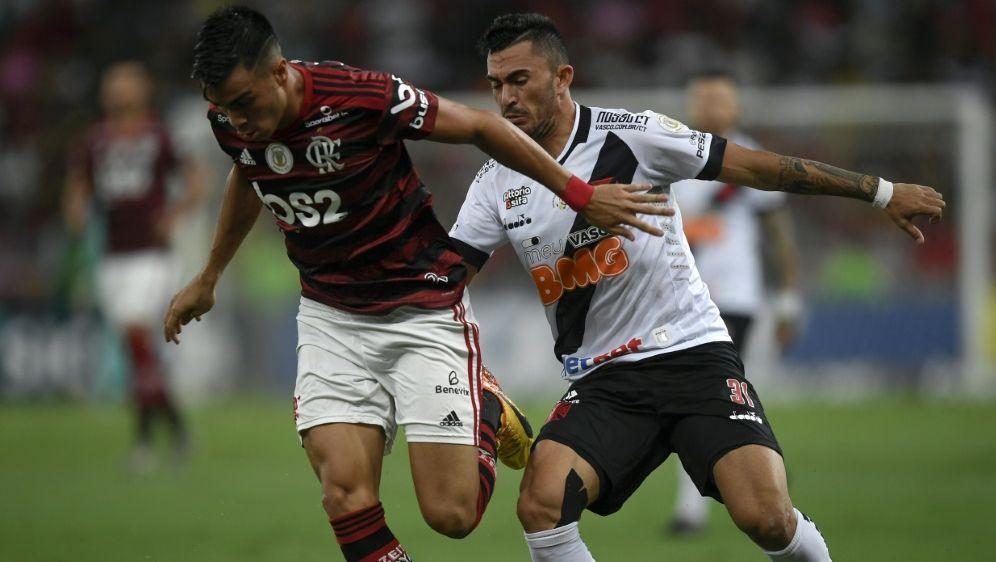 Reinier (l.) spielte zuvor in Brasilien für Flamengo - Bildquelle: AFPSIDMAURO PIMENTEL