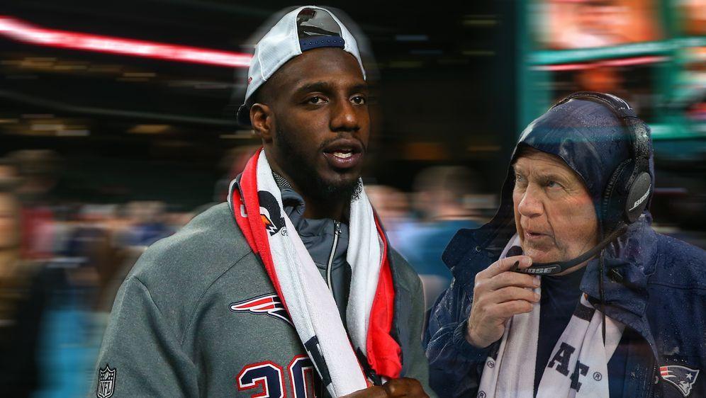 Duron Harmon (r.) und sein ehemaliger Head Coach Bill Belichick - Bildquelle: imago/Icon SMI