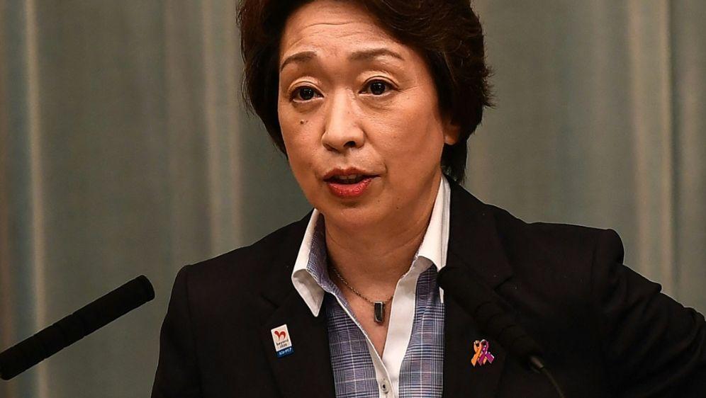 Olympiachefin Hashimoto will Zuschauer bei den Spielen - Bildquelle: AFPSIDCHARLY TRIBALLEAU