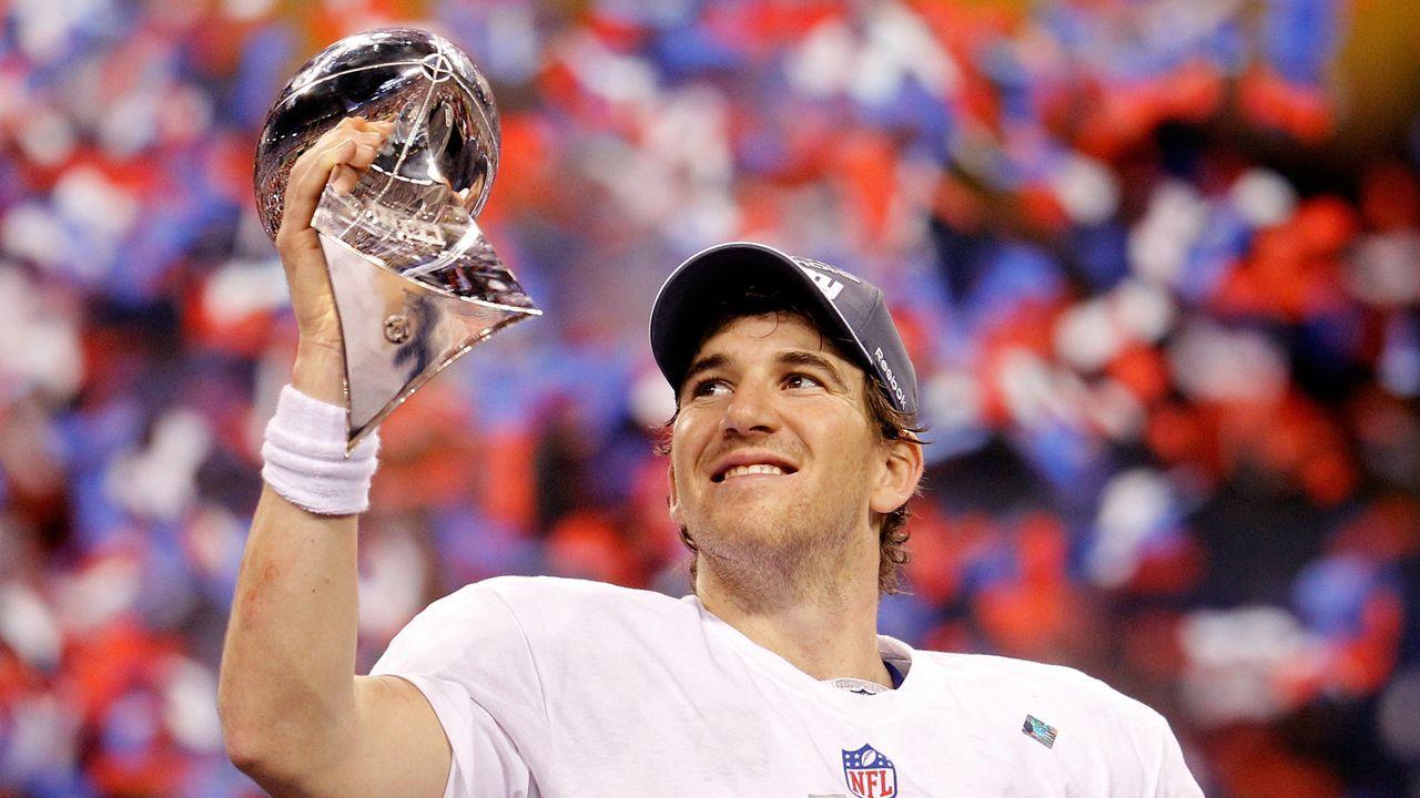 Kassensturz zum Karriereende: So viel Geld hat Eli Manning in der NFL verdient - Bildquelle: 2012 Getty Images