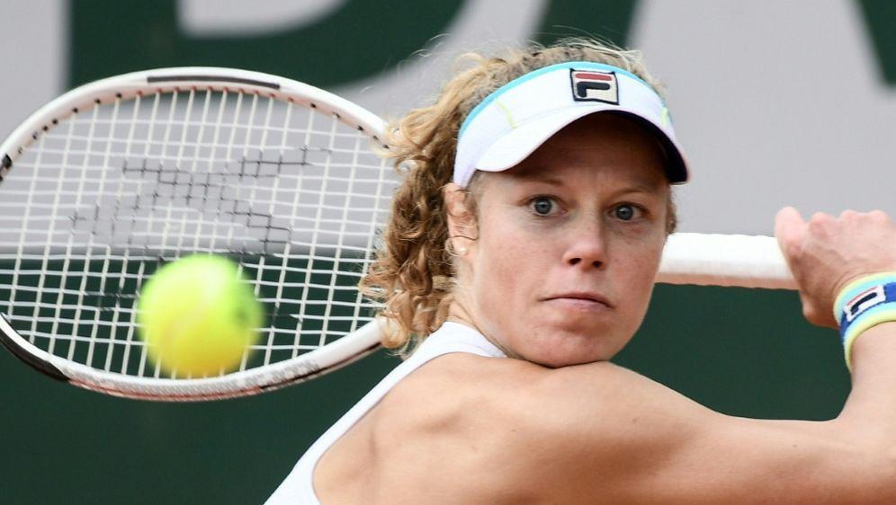 Laura Siegemund steht in Bukarest im Viertelfinale - Bildquelle: AFPSIDPHILIPPE LOPEZ