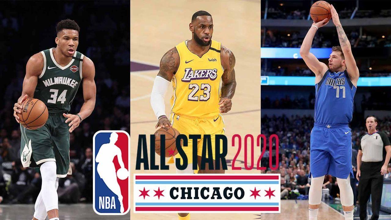 LeBron vs. Giannis - Die All-Star-Teams der NBA - Bildquelle: getty ; imago