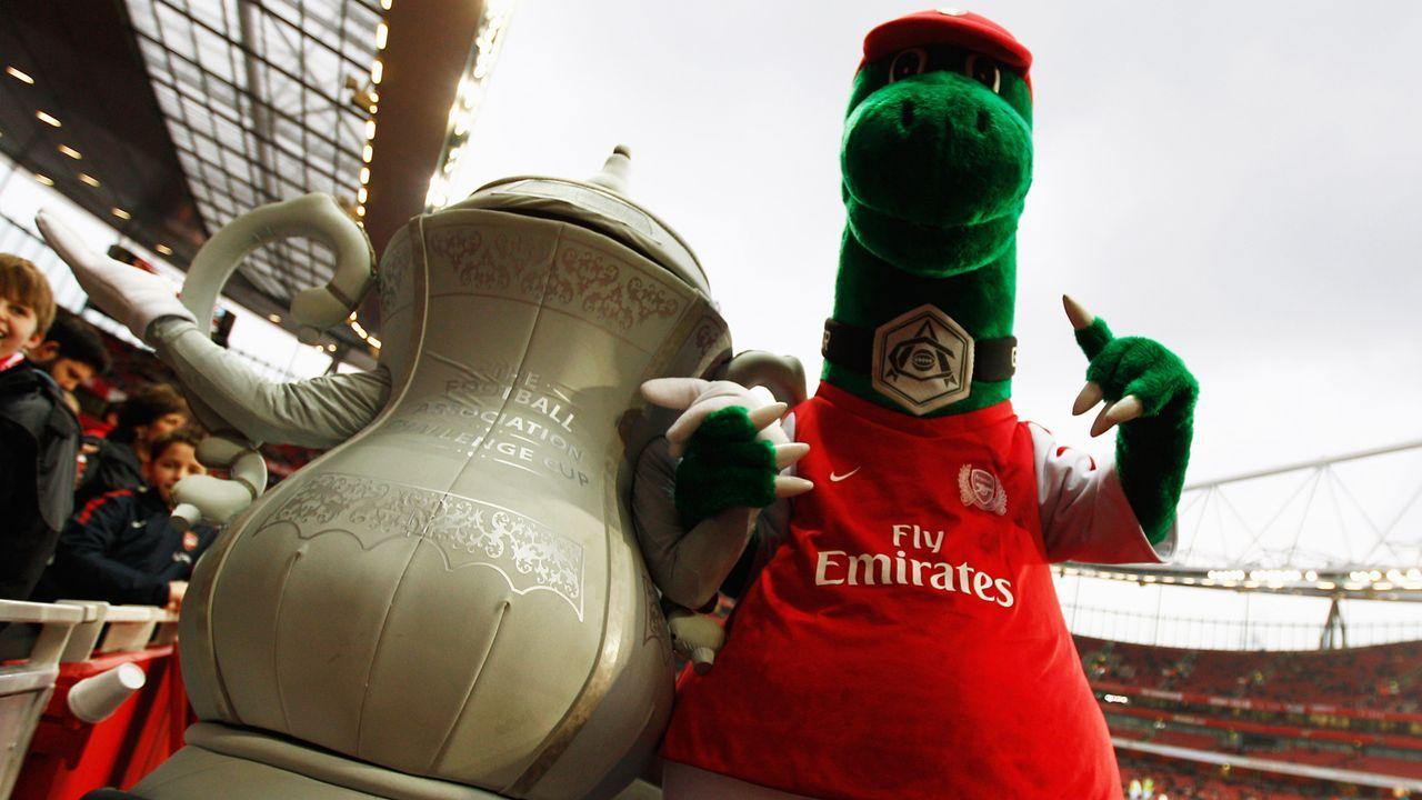 Kultfigur abgesägt: Arsenal entlässt Maskottchen nach 27 Jahren - Bildquelle: Getty Images