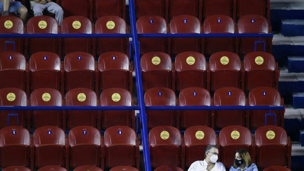 Beim Tennis-Masters in Rom sollen Zuschauer dabei sein - Bildquelle: AFPSIDALFREDO ESTRELLA