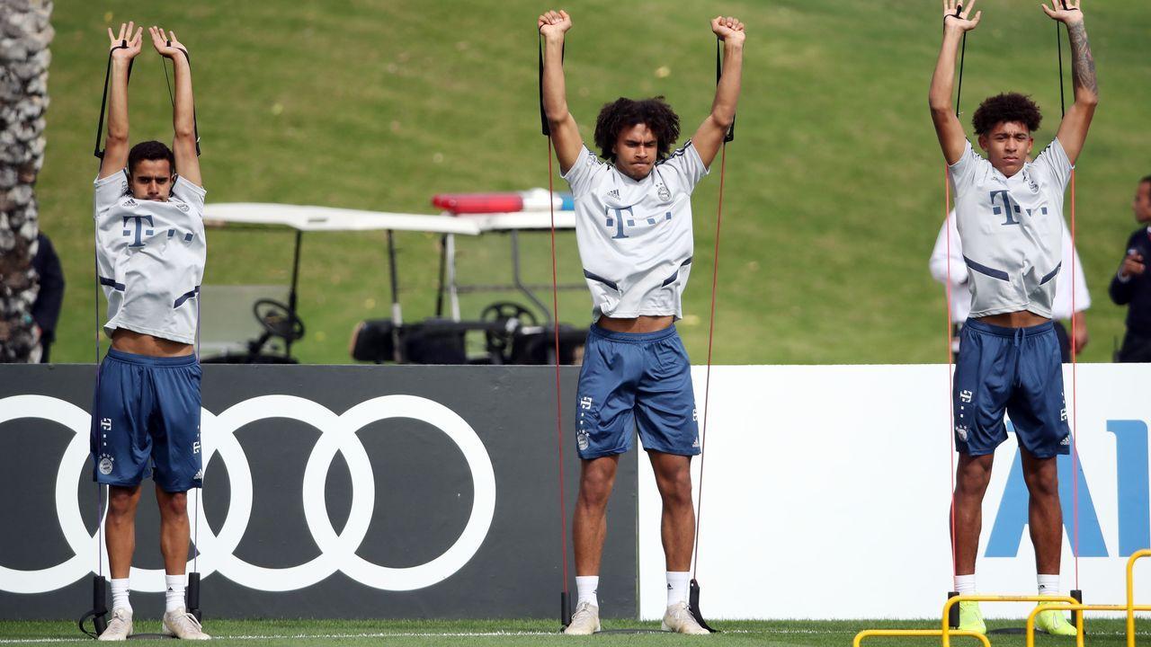 Die Nachwuchsspieler im Trainingslager des FC Bayern - Bildquelle: getty images