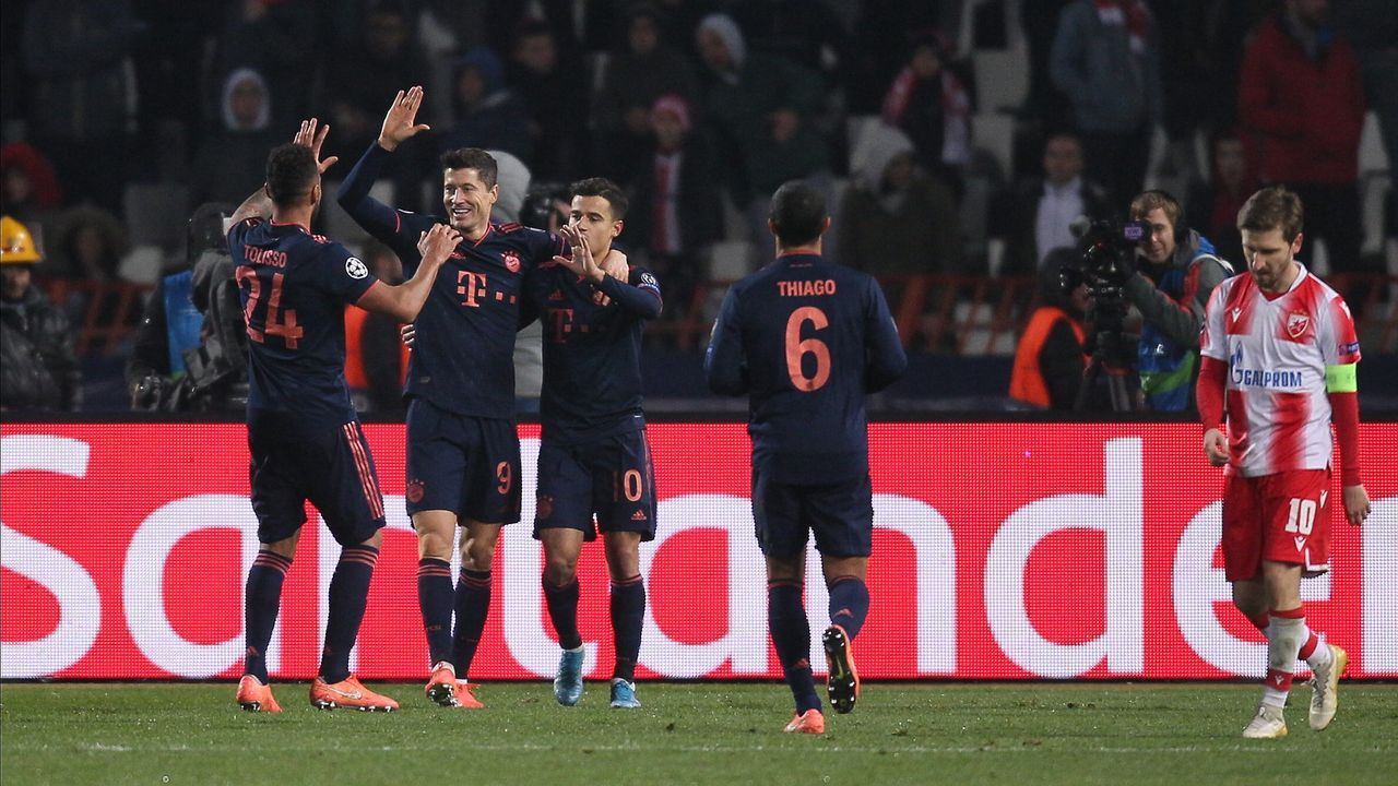 Gruppenphase, 5. Spieltag: Robert Lewandowski (FC Bayern) - Bildquelle: imago