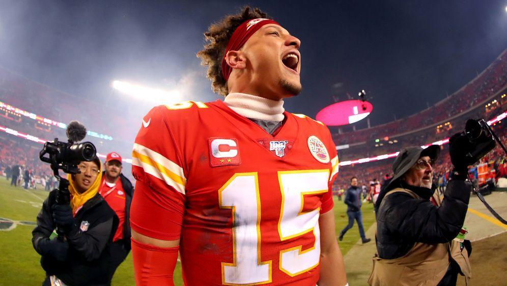 Zahlreiche NFL-Fans sahen das Mahomes-Spektakel - Bildquelle: Getty Images