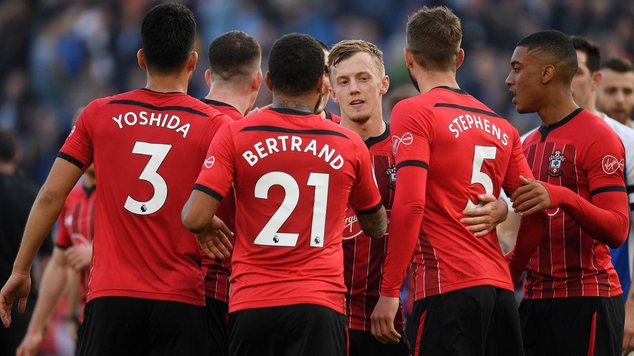Platz 17 - FC Southampton - Bildquelle: 2019 Getty Images