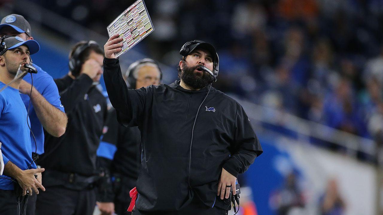 Die Detroit Lions suchen einen Nachfolger von Matt Patricia - Bildquelle: Getty Images