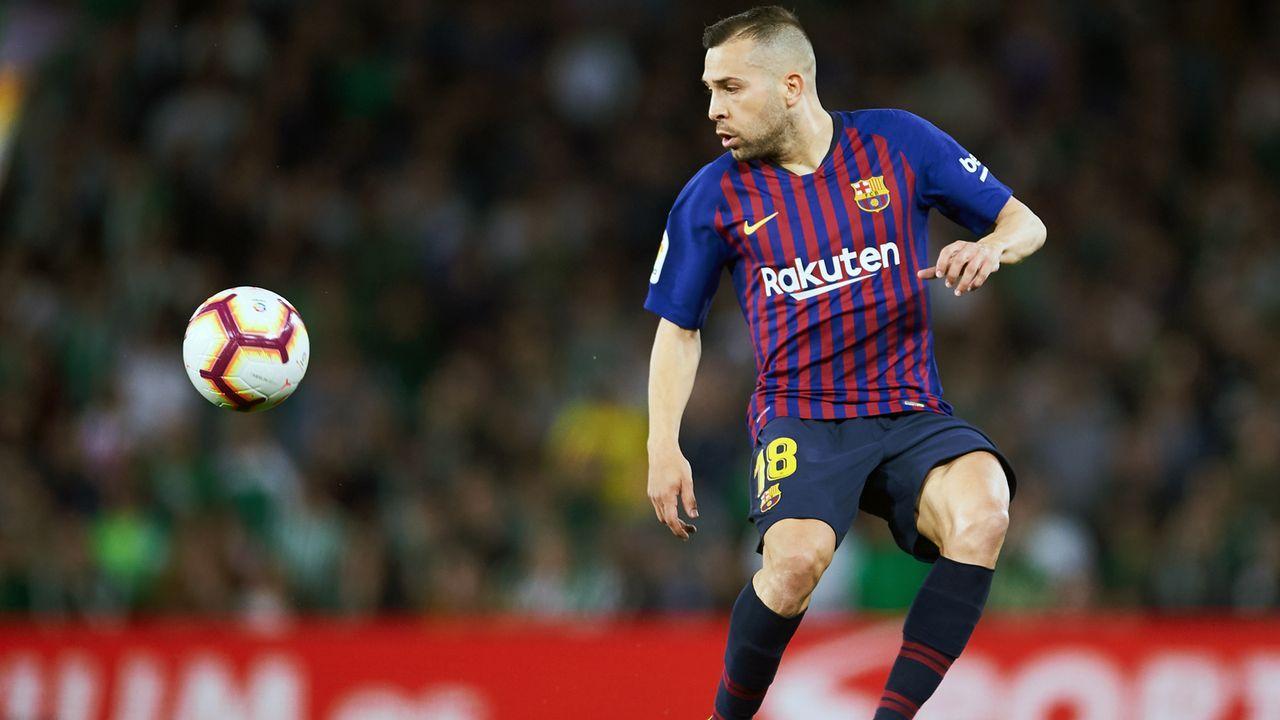 Abwehr - Jordi Alba - Bildquelle: 2019 Getty Images