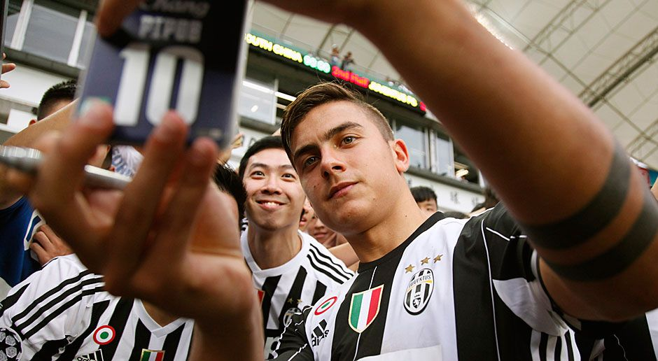 Rechter Stürmer: Paulo Dybala (Juventus Turin) - Bildquelle: 2016 Getty Images