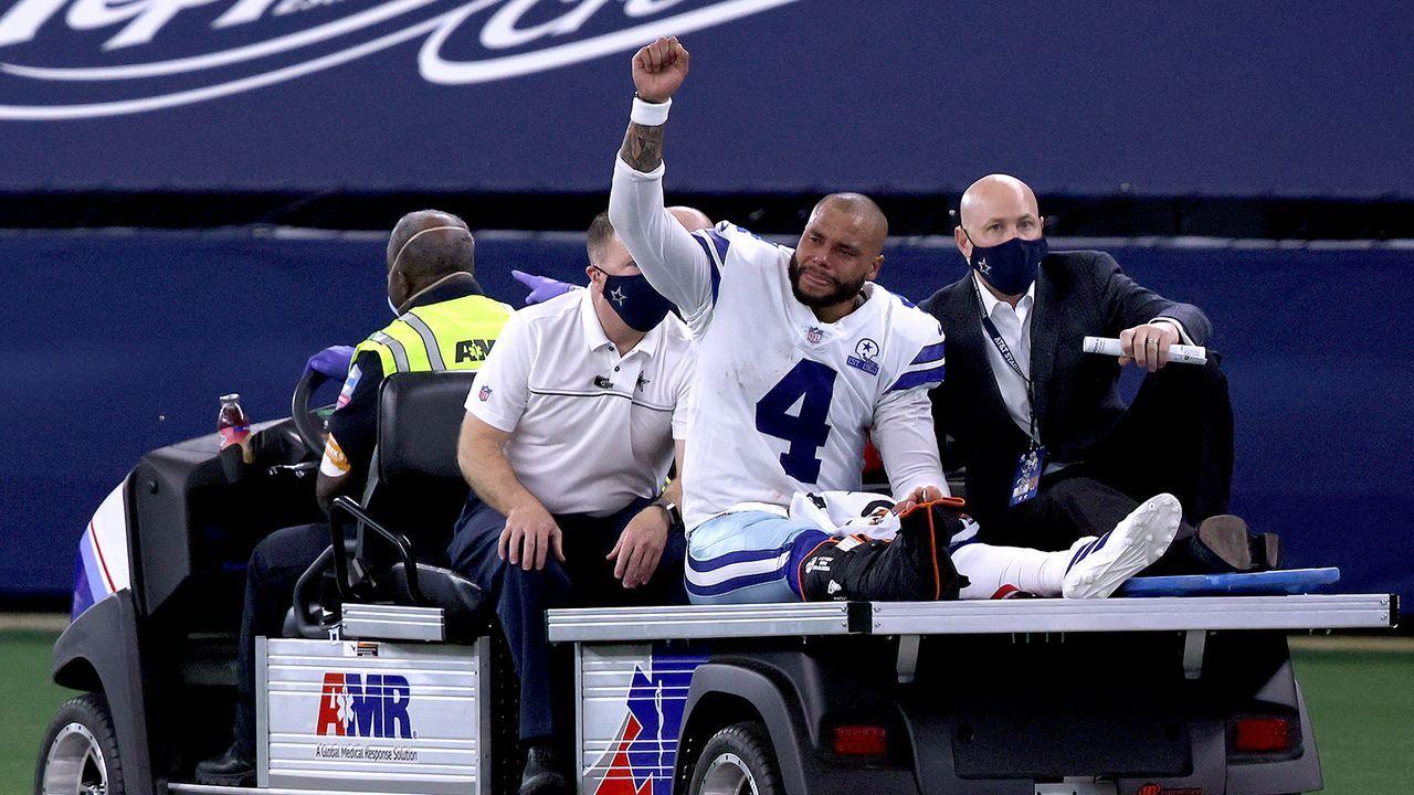 Dak Prescott (Quarterback) - Bildquelle: Getty Images