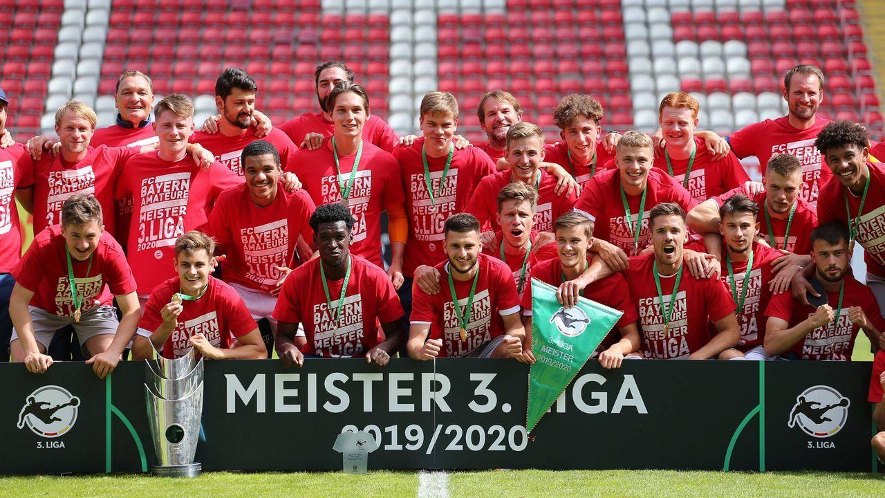 FC Bayern II wird aussortiert - Bildquelle: 2020 imago
