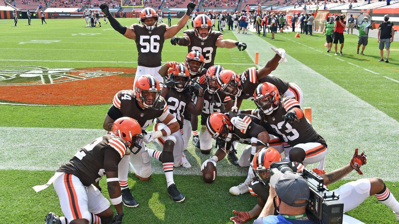 Cleveland Browns (Week 17 in Cleveland) - Bildquelle: 2020 Getty Images