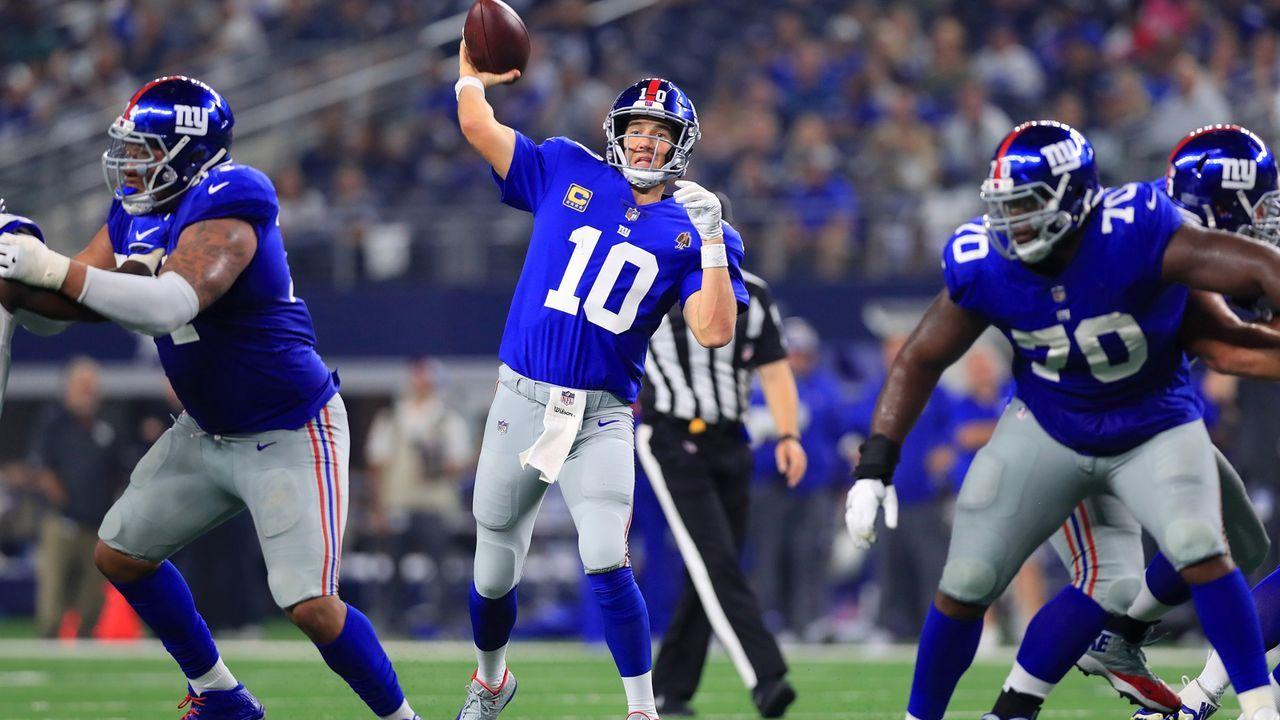 Platz 9: Eli Manning - Bildquelle: Getty Images