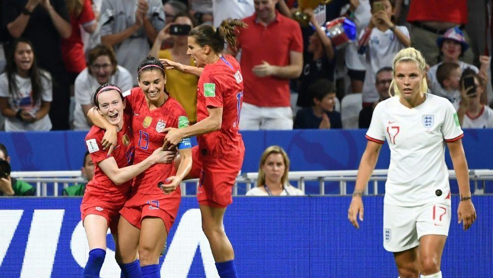 Frauen-WM: Die USA steht zum fünften Mal im Finale - Bildquelle: AFPSIDFRANCK FIFE