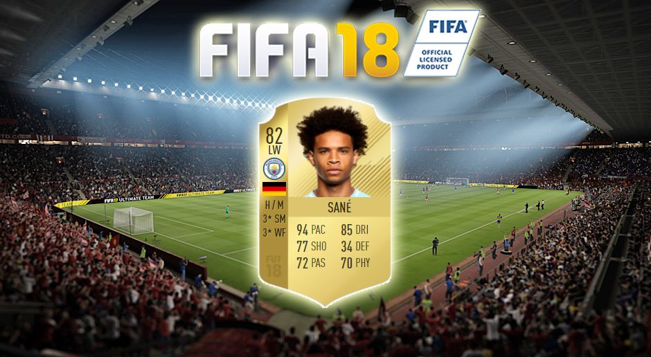 Platz 8: Leroy Sane (Manchester City) - Bildquelle: EA Sports