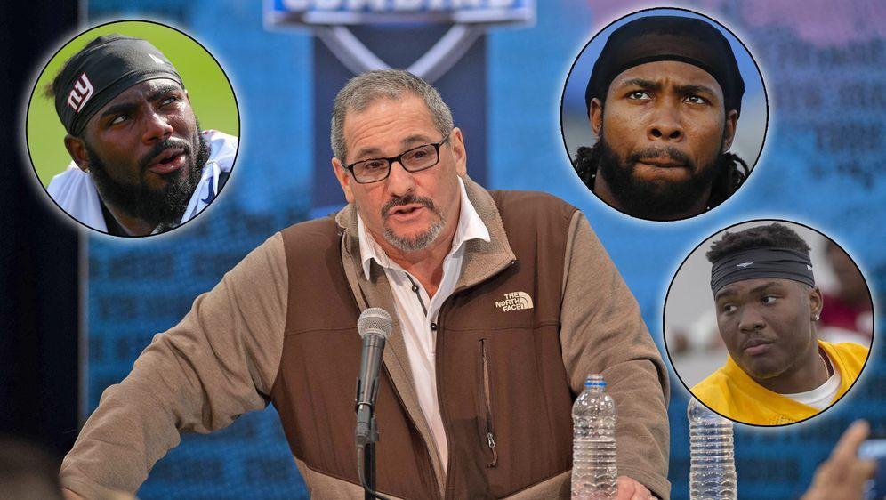 Giants-GM Dave Gettleman ist mitverantwortlich dafür, dass Josh Landon Colli... - Bildquelle: Getty/imago