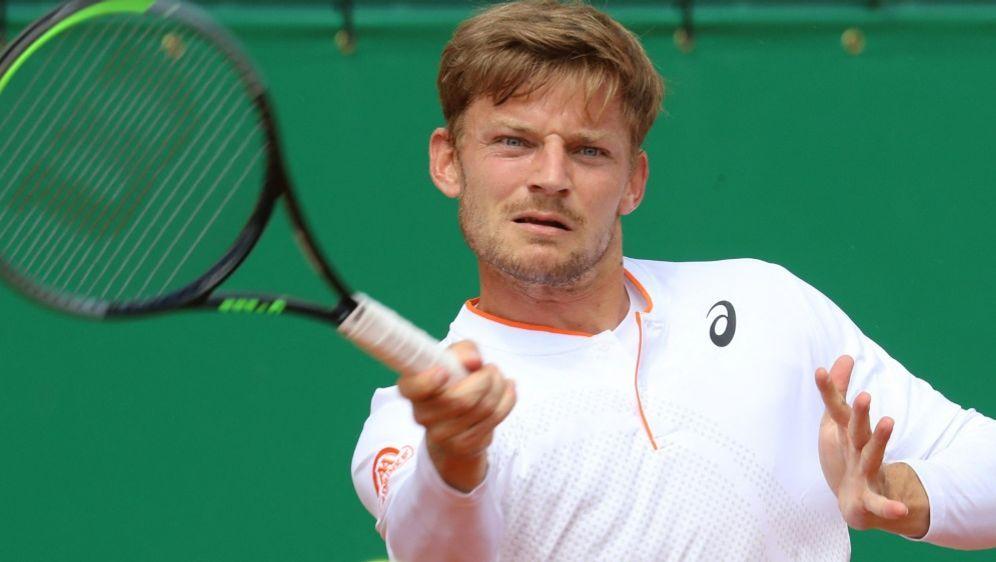 David Goffin verlor im Viertelfinale gegen Daniel Evans - Bildquelle: AFPSIDVALERY HACHE