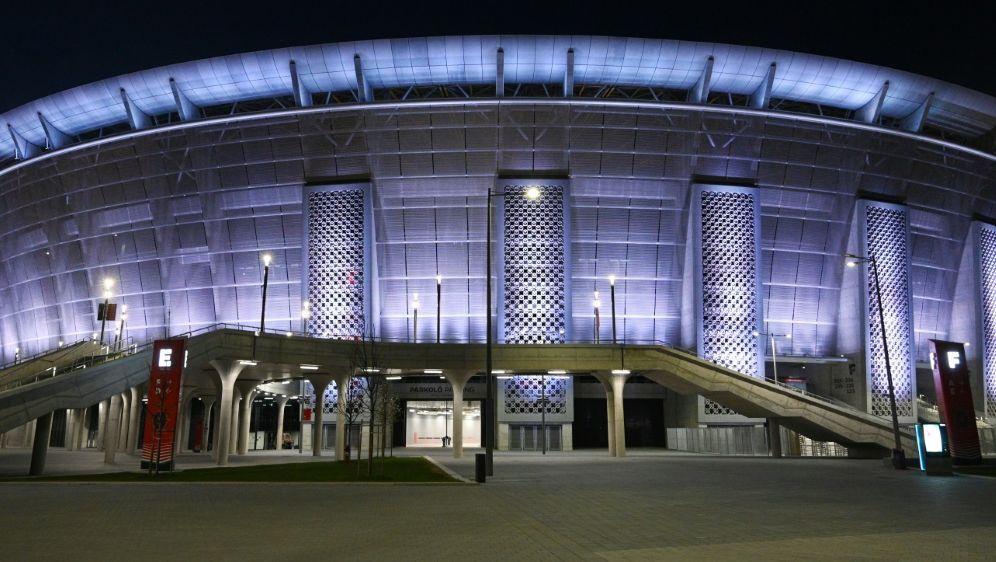 In der Puskas Arena wird der Supercup ausgetragen - Bildquelle: AFPSIDATTILA KISBENEDEK