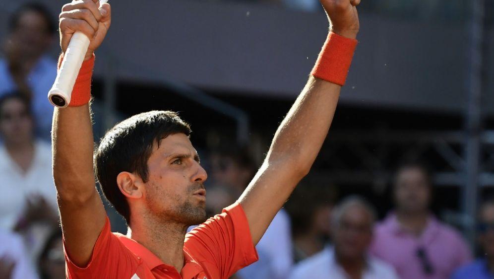 Djokovic erreicht das Finale des Turniers in Madrid - Bildquelle: AFPSIDJAVIER SORIANO