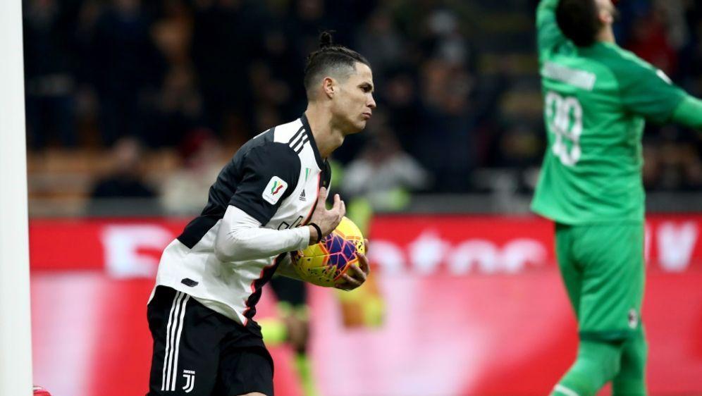Ronaldo erzielte den späten Ausgleich - Bildquelle: AFPSIDISABELLA BONOTTO