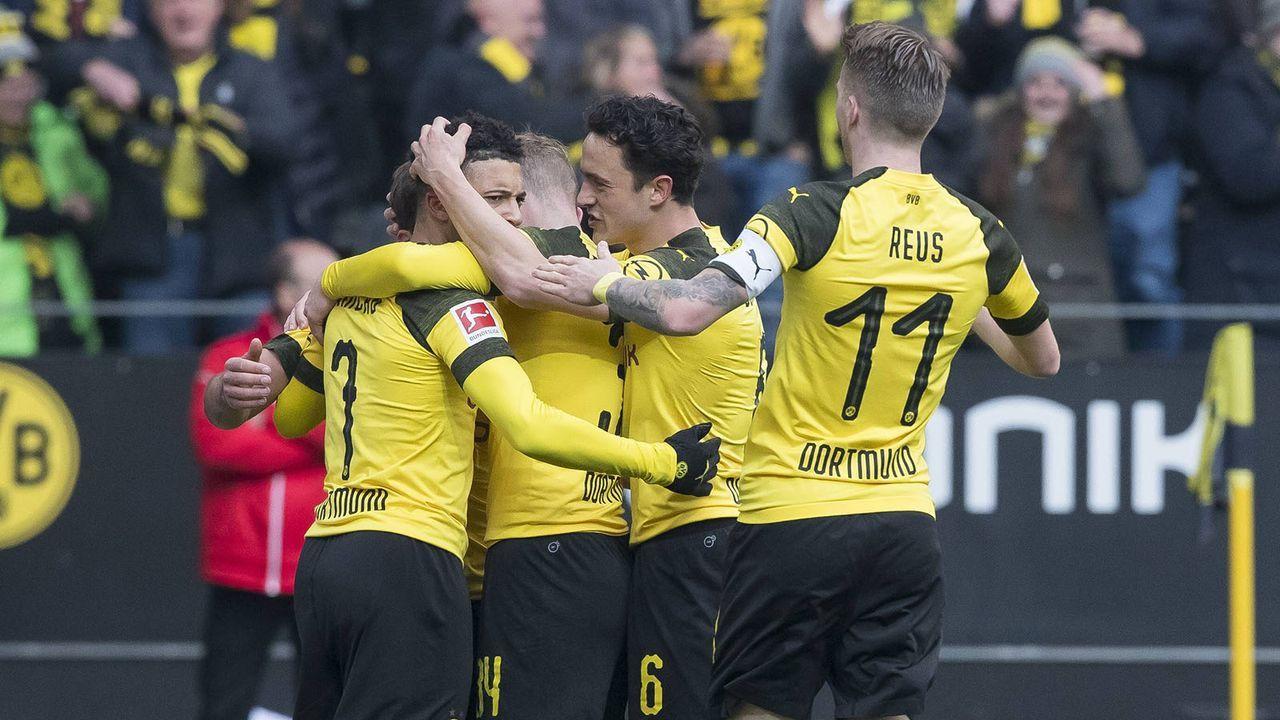 So schlugen sich die BVB-Stars gegen Mainz - Bildquelle: imago