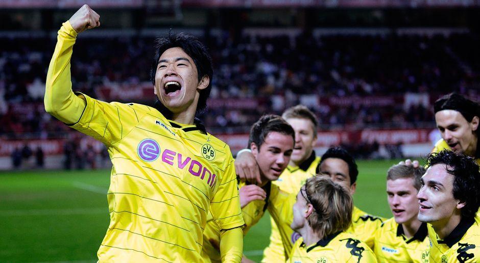 2010 - Shinji Kagawa zu Borussia Dortmund (350.000) - Bildquelle: 2010 Getty Images