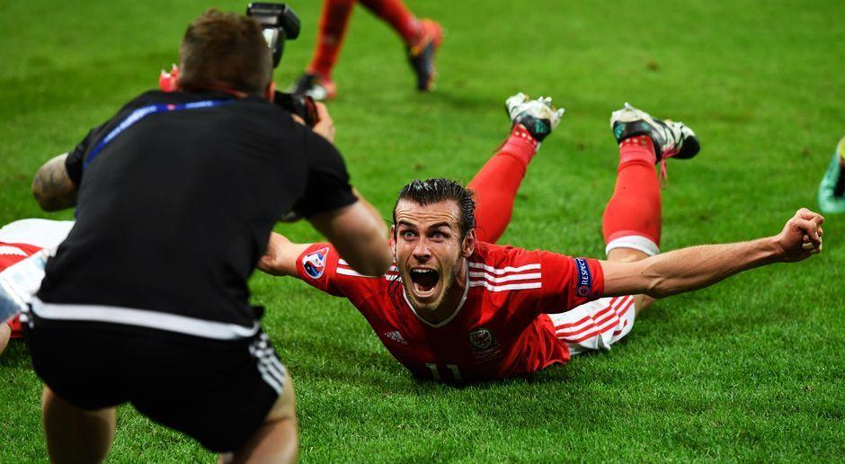Wales feiert Halbfinal-Einzug - Bildquelle: 2016 Getty Images