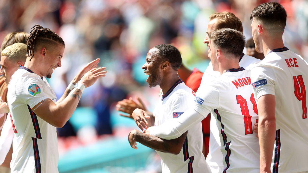 Gruppe D: England (Gruppensieger, 7 Punkte/2:0) - Bildquelle: 2021 Getty Images