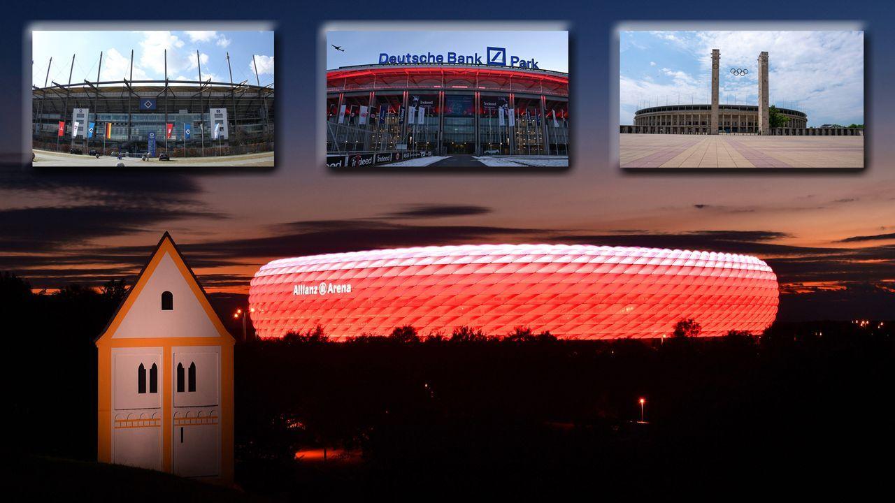 NFL-Spiel in Deutschland: Welche Stadien wären geeignet? - Bildquelle: imago images/Sven Simon