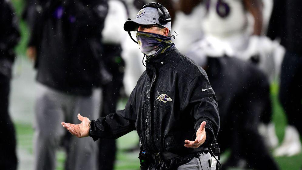 John Harbaugh ist seit 2008 für die Geschicke der Baltimore Ravens verantwor... - Bildquelle: 2020 Getty Images