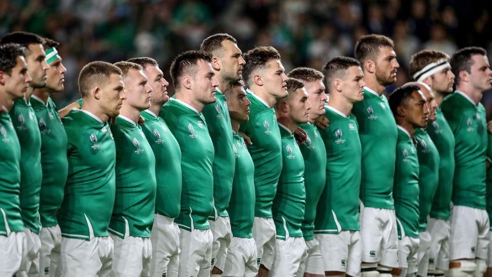 Eine Hymne, ein Team: Irland bei der Rugby-WM. - Bildquelle: imago images/Inpho Photography