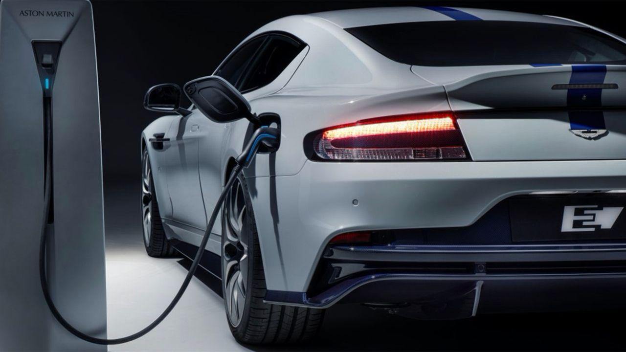 Aston Martin Rapid E  - Bildquelle: Aston Martin
