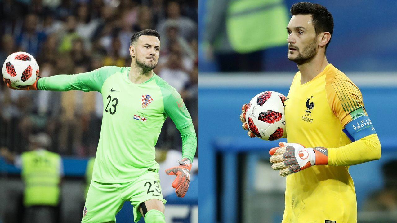 Danijel Subasic vs. Hugo Lloris - Bildquelle: Imago