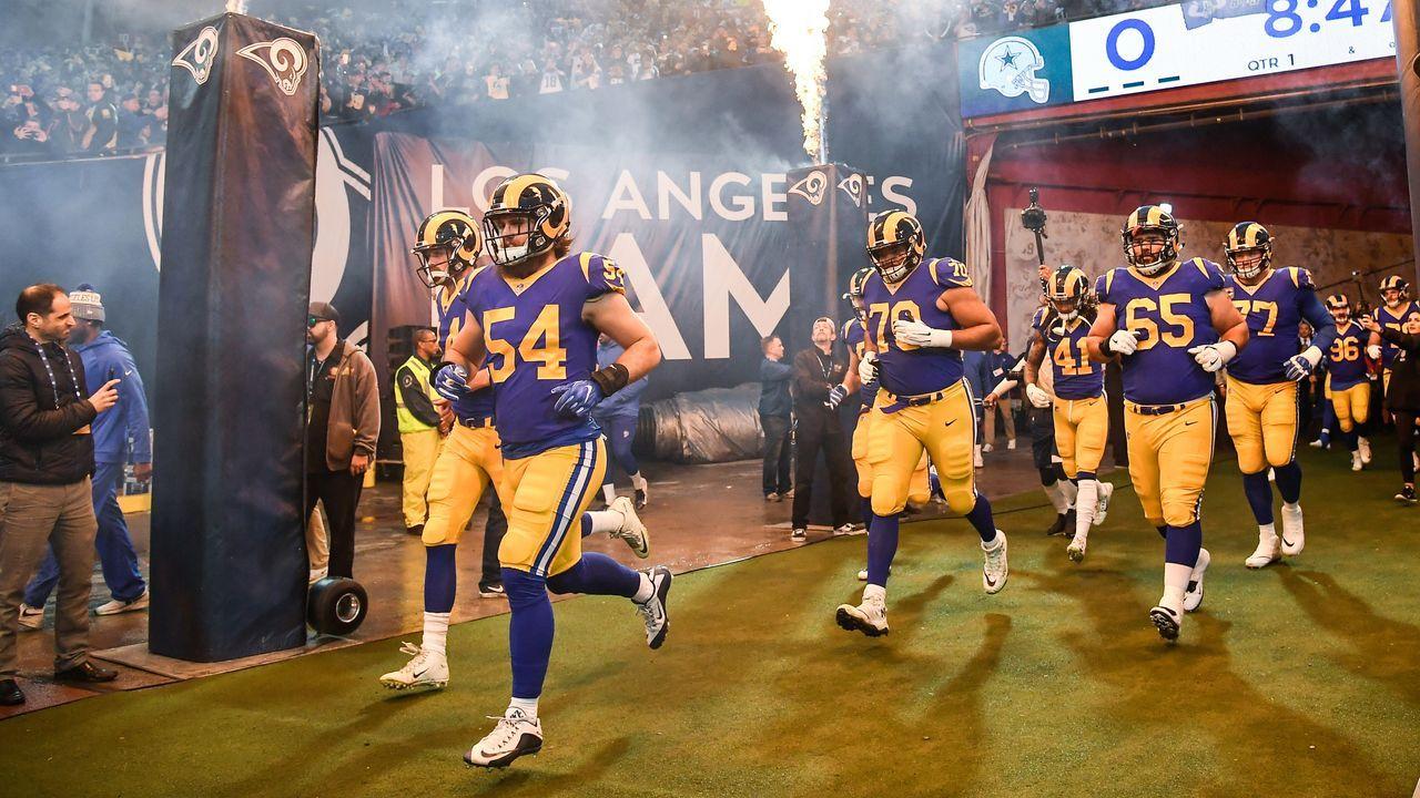 10. Los Angeles Rams - Bildquelle: 2019 Getty Images