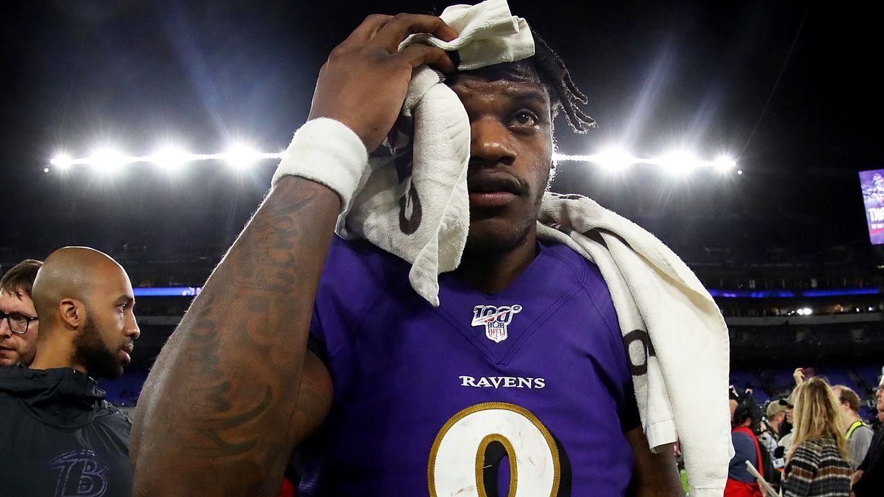 Lamar Jackson (Baltimore Ravens) - Bildquelle: 2020 Getty Images