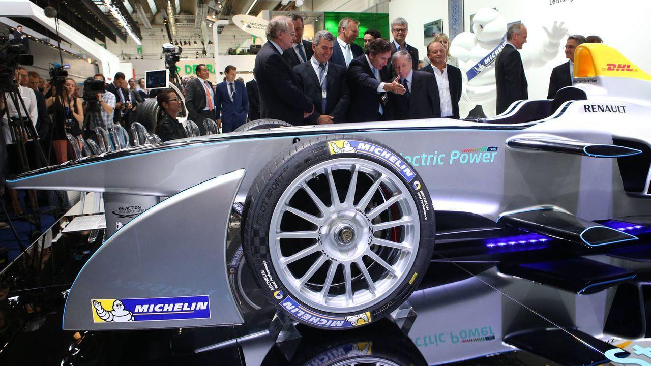 Erster Formel E-Rennwagen - Bildquelle: imago sportfotodienst
