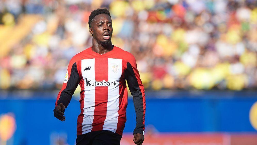 """Wurde von """"Fans"""" rassistisch beleidigt: Inaki Williams von Athletic Bilbao. - Bildquelle: imago images/ZUMA Press"""