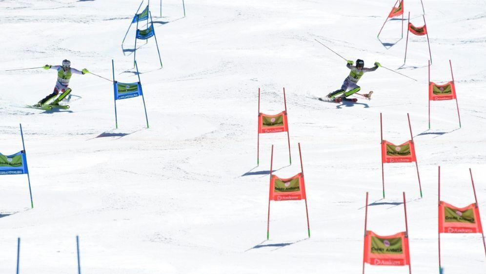 Einzel-Parallel-Rennen gehören künftig zum WM-Programm - Bildquelle: AFPSIDJAVIER SORIANO