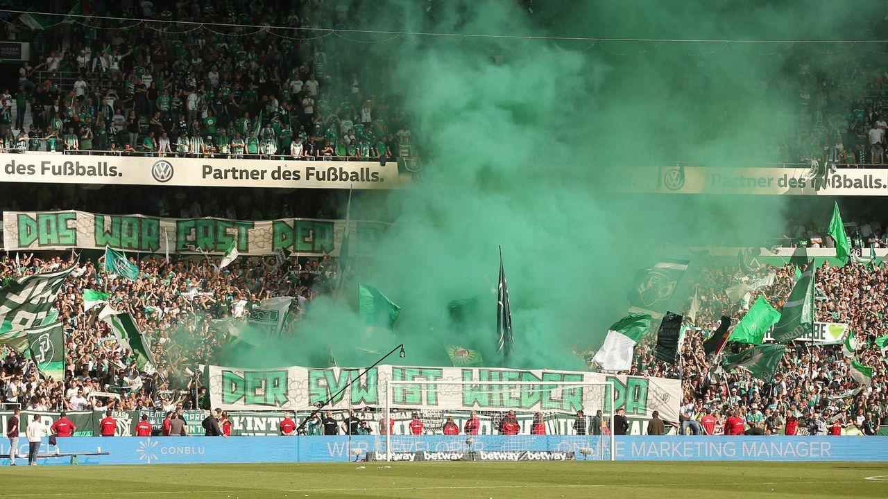 Platz 14: SV Werder Bremen - Bildquelle: imago images / Picture Point LE