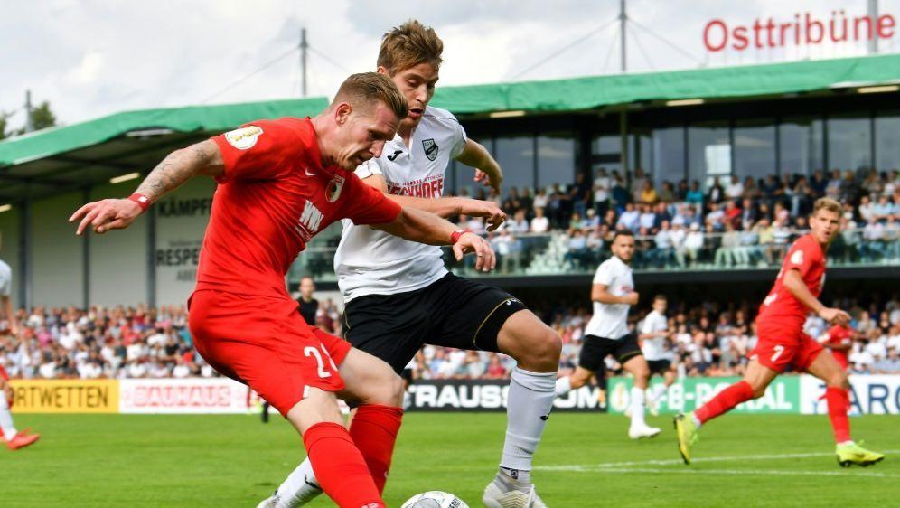 Der SC Verl besiegte Augsburg in der ersten Pokalrunde - Bildquelle: PIXATHLONPIXATHLONSID